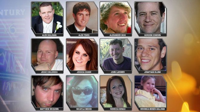 Aurora Colorado shooting victims